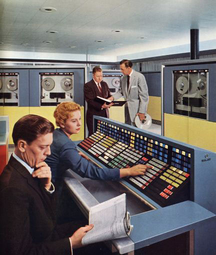 Picture of 1960s mainframe